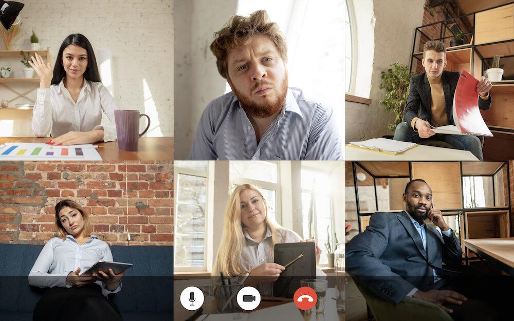 Körpersprache im Online Meeting