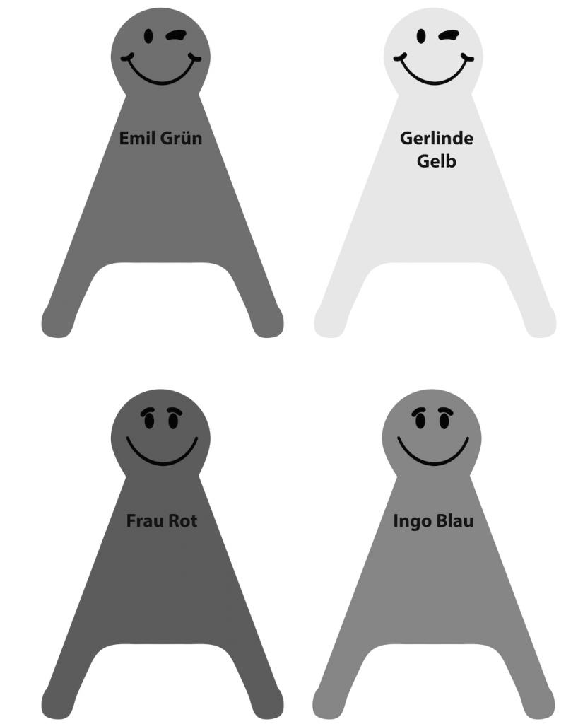 Körpersprache Typologie